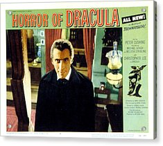 Horror Of Dracula, Christopher Lee, 1958 Acrylic Print