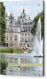 Horse Guards Acrylic Print by Andrew  Michael