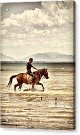 Horse Riding Acrylic Print