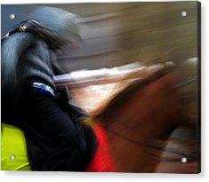 Horserider Acrylic Print by Colette V Hera  Guggenheim