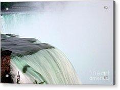 Horseshoe Falls Mist Acrylic Print by Loriannah Hespe