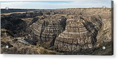 Horsethief Canyon Alberta Acrylic Print