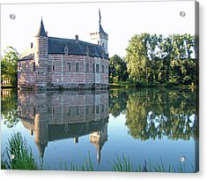 Acrylic Print featuring the photograph Horst Castle Belgium by Joseph Hendrix