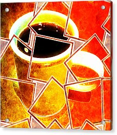 Hot Coffee 01 Acrylic Print
