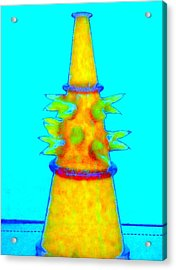 Hot Glass 72 Acrylic Print by Randall Weidner