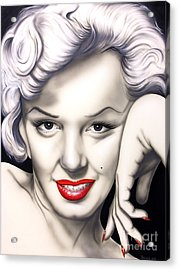 Hot Lips Acrylic Print by Bruce Carter