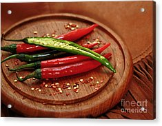Hot Pleasures From Mexico Acrylic Print by Inspired Nature Photography Fine Art Photography