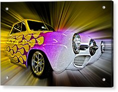 Hot Rod Art Acrylic Print by Steve McKinzie