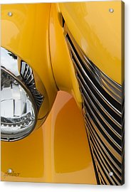 Hot Rod Chevy Acrylic Print by Steven Milner