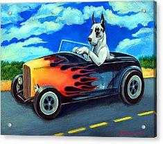 Hot Rod Harl Acrylic Print