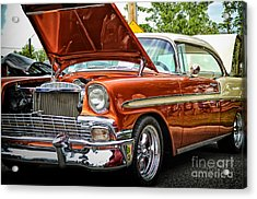 Hot Rod Acrylic Print by Tamera James