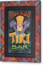 Hot Rod Tiki Bar Acrylic Print