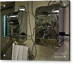 Hot Towels Acrylic Print by Black Sun Forge