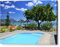 Hotel Dream - Mauritius Acrylic Print by JH Photo Service