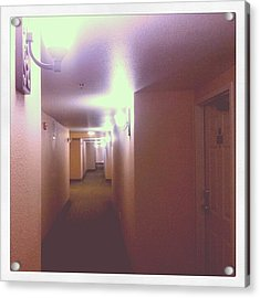 Hotel Nights Acrylic Print