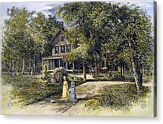 House, 19th Century Acrylic Print by Granger