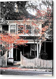 House In Cooper Young Acrylic Print