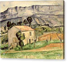 House In Provence Acrylic Print by Paul Cezanne