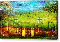 House In The Forest Acrylic Print