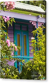 House Of Blues  Acrylic Print by Rene Triay Photography