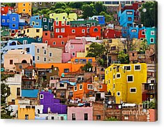 Acrylic Print featuring the photograph House Of Guanajuato - Mexico by Craig Lovell