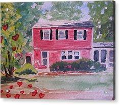 House Of Love Acrylic Print