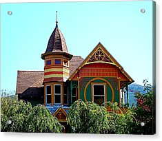 House Of Many Colors Acrylic Print by Nick Kloepping