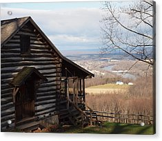 House On The Hill Acrylic Print by Robert Margetts
