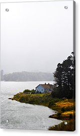 House On The Water - Vertical Acrylic Print