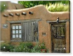 House With A View Acrylic Print by Tamera James