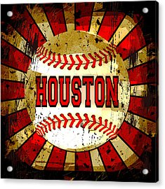 Houston Acrylic Print by David G Paul