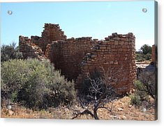 Hovenweep House Acrylic Print by Cynthia Cox Cottam