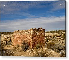 Hovenweep's Twin Towers Acrylic Print by Feva  Fotos