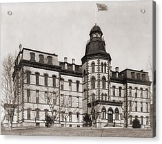 Howard University Was Founded In 1867 Acrylic Print by Everett
