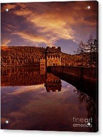 Howden Reflections Acrylic Print by Nigel Hatton