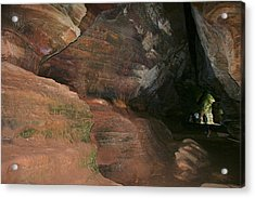 Huge Musky Cave Acrylic Print by Richard Gregurich