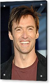 Hugh Jackman At Arrivals For Flushed Acrylic Print by Everett