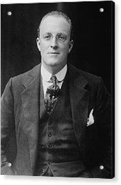 Hugh Walpole 1884-1941, New Zealand Acrylic Print by Everett