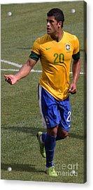 Hulk Give Me The Ball Acrylic Print by Lee Dos Santos