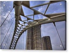 Humber Bay Bridge Acrylic Print