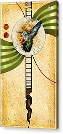 Humming Acrylic Print by Joshua Dixon