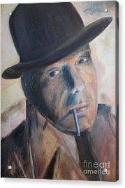 Humphry Bogart Acrylic Print by Paul Galante