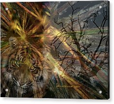 Acrylic Print featuring the photograph Hunter by EricaMaxine  Price