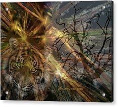 Hunter Acrylic Print by EricaMaxine  Price