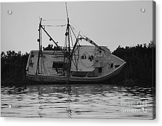 Acrylic Print featuring the photograph Hurricane Boat by Luana K Perez