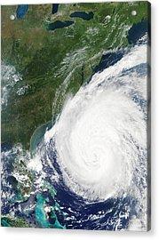 Hurricane Isabel, 17th September 2003 Acrylic Print