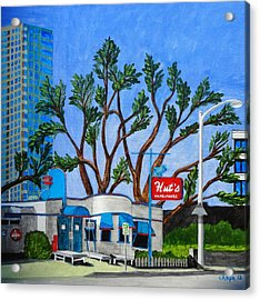 Hut's Hamburgers Austin Texas. 2012 Acrylic Print