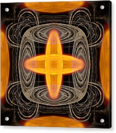 Hydrogen Fusion Acrylic Print by Joe Halinar