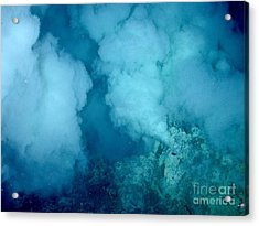 Hydrothermal Smoker Vent Acrylic Print by Science Source