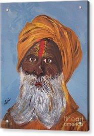 I Am A Sikh Acrylic Print